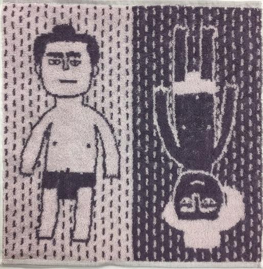 「ミニタオル相撲力士」